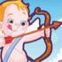 بازی مسابقه با کمان فرشته کوچولو