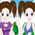بازی دختران دوقلوی زیبا
