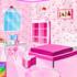 بازی دکوراسیون اتاق خواب دختر