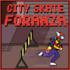 بازی اسکیت در شهر