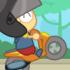 تیتوک و موتورسواری