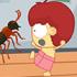 تیتوک و حمله به حشرات