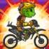 بازی موتورسواری زامبی